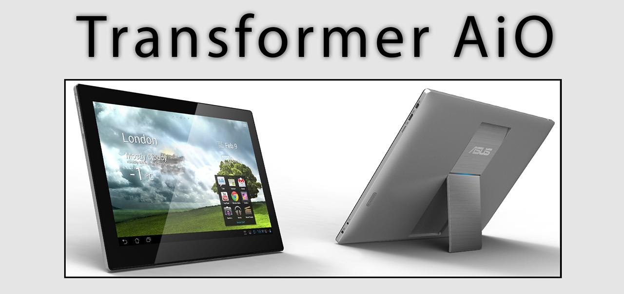 Asus Transformer AiO, o hibrido de tablet e desktop