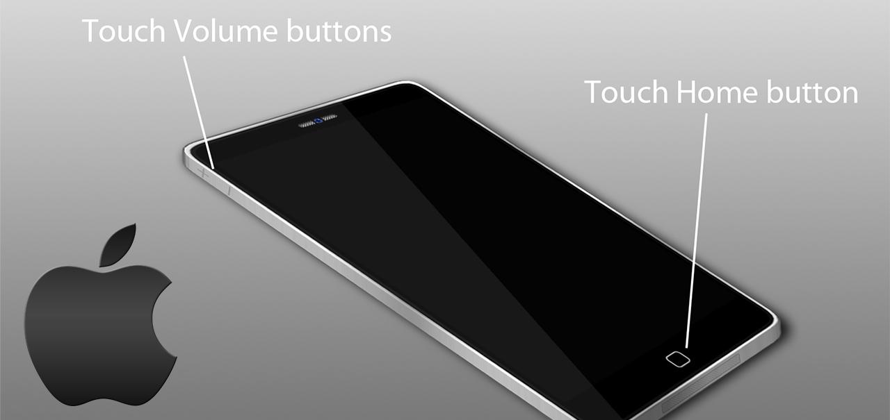 Nova geração de aparelhos da Apple não contara com o botão Home