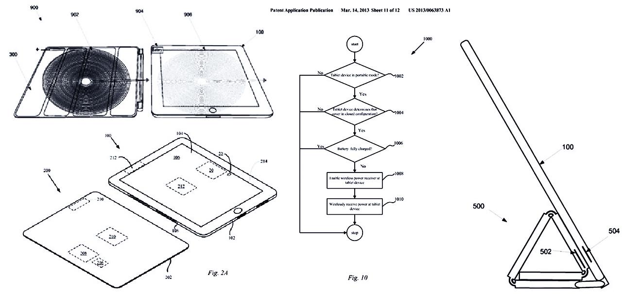 Patente Smart cover - apple