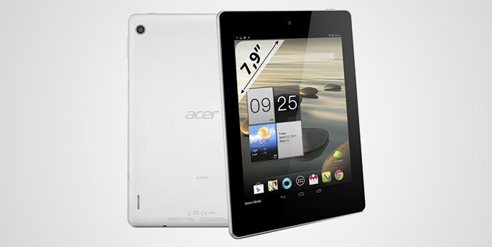 Devido a um erro Acer Iconia A1-810 aparece em loja online