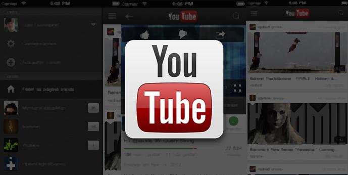 yrtApp do YouTube para iOS agora possui feed e permite assistir Live streams