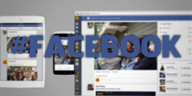 Facebook ganha suporte a hashtags