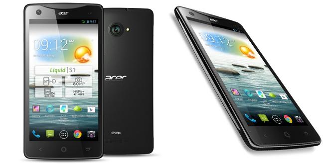 Liquid S1 o novo smartphone da Acer
