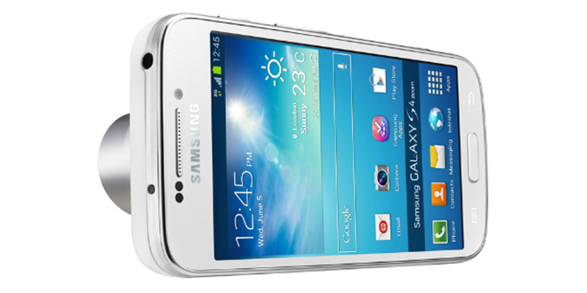 Samsung anuncia oficialmente o Galaxy S4 Zoom 1