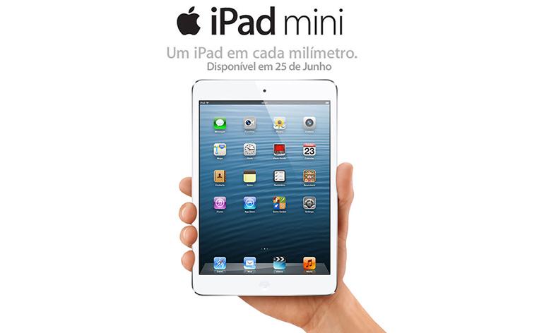 iPad Mini finalmente vai chegar ao Brasil