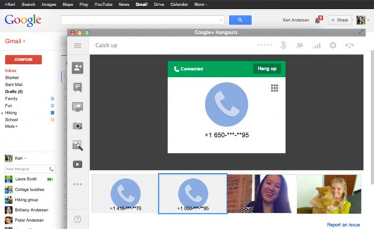 Google anuncia que o Gmail Call está de volta