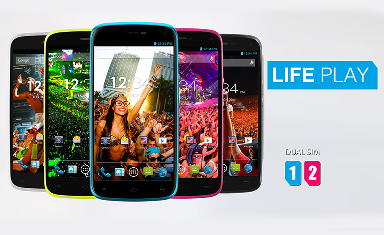 Life Play o primeiro smartphone da Blu que será comercializado oficialmente no Brasil
