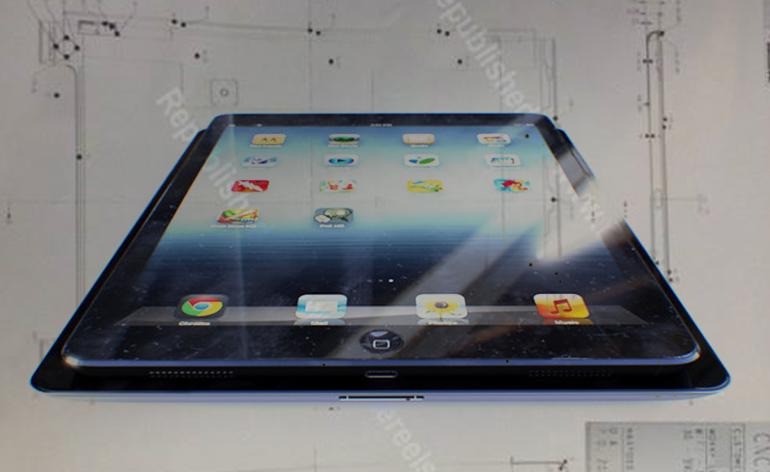 iPad 5 será menor e terá um design semelhante ao do iPad Mini, confira as imagens