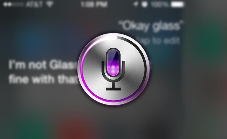 Confira Como a Siri responde ao comando Okay Glass