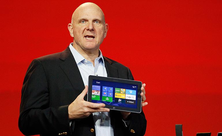 Steve Ballmer deixará a Microsoft nos próximos 12 meses
