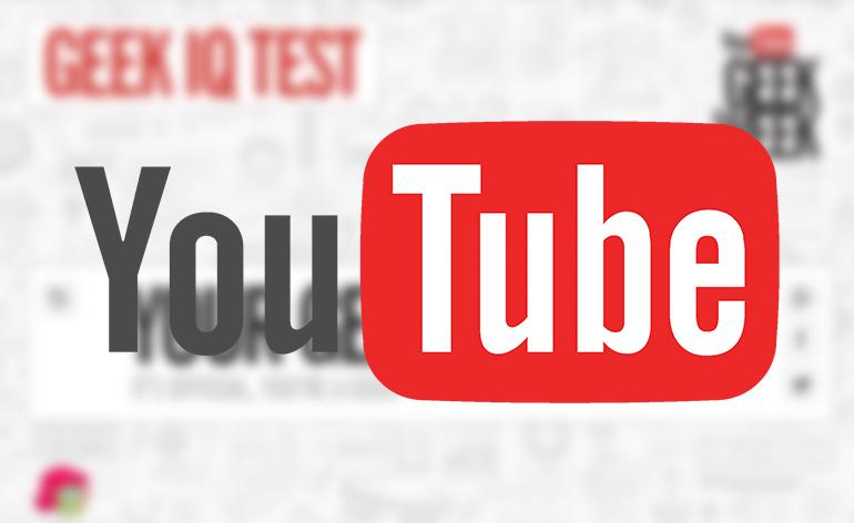 YouTube está cheio de os Easter Eggs para a Geek Week