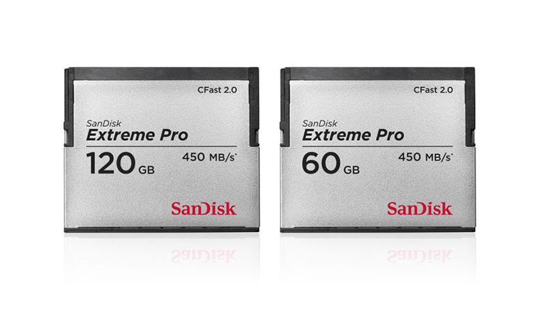 Cartão de memória mais rápido do mundo é apresentado pela SanDisk