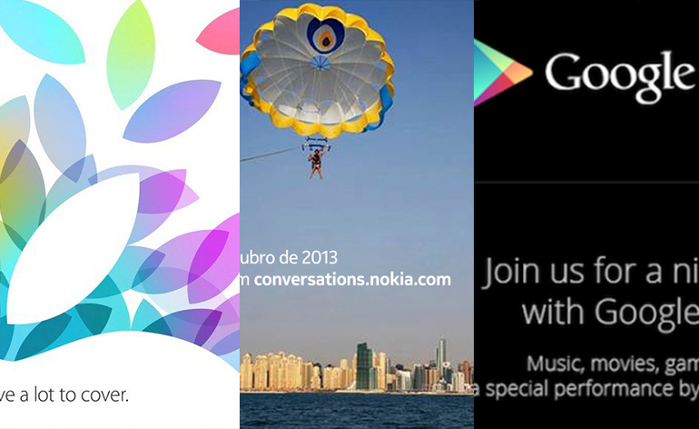 Eventos da semana Apple Nokia e Google