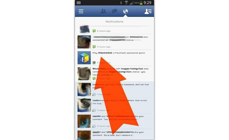 Facebook terá publicidade até nas notificações 2