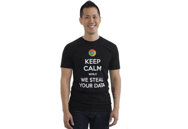Anti-Google-T-Shirt