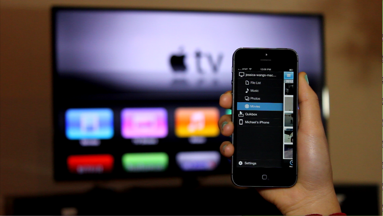 Apple TV 1 - Select Movie