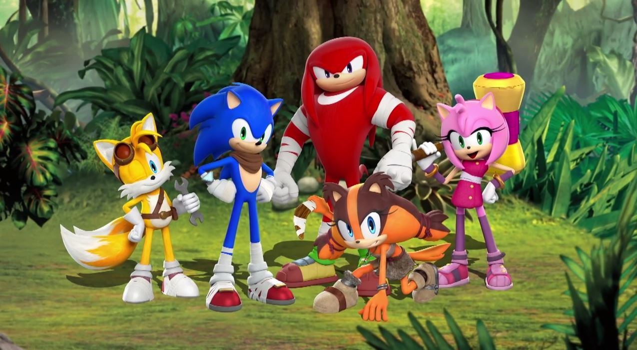 SONIC BOOM Sticks Character