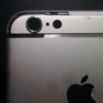 Câmera, em detalhe, do iPhone 6