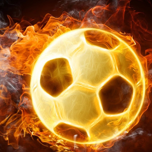 Football-Ball-On-Fire-Wallpaper