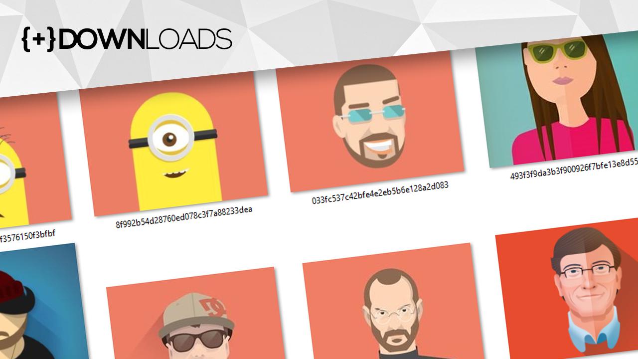 avatars-flat