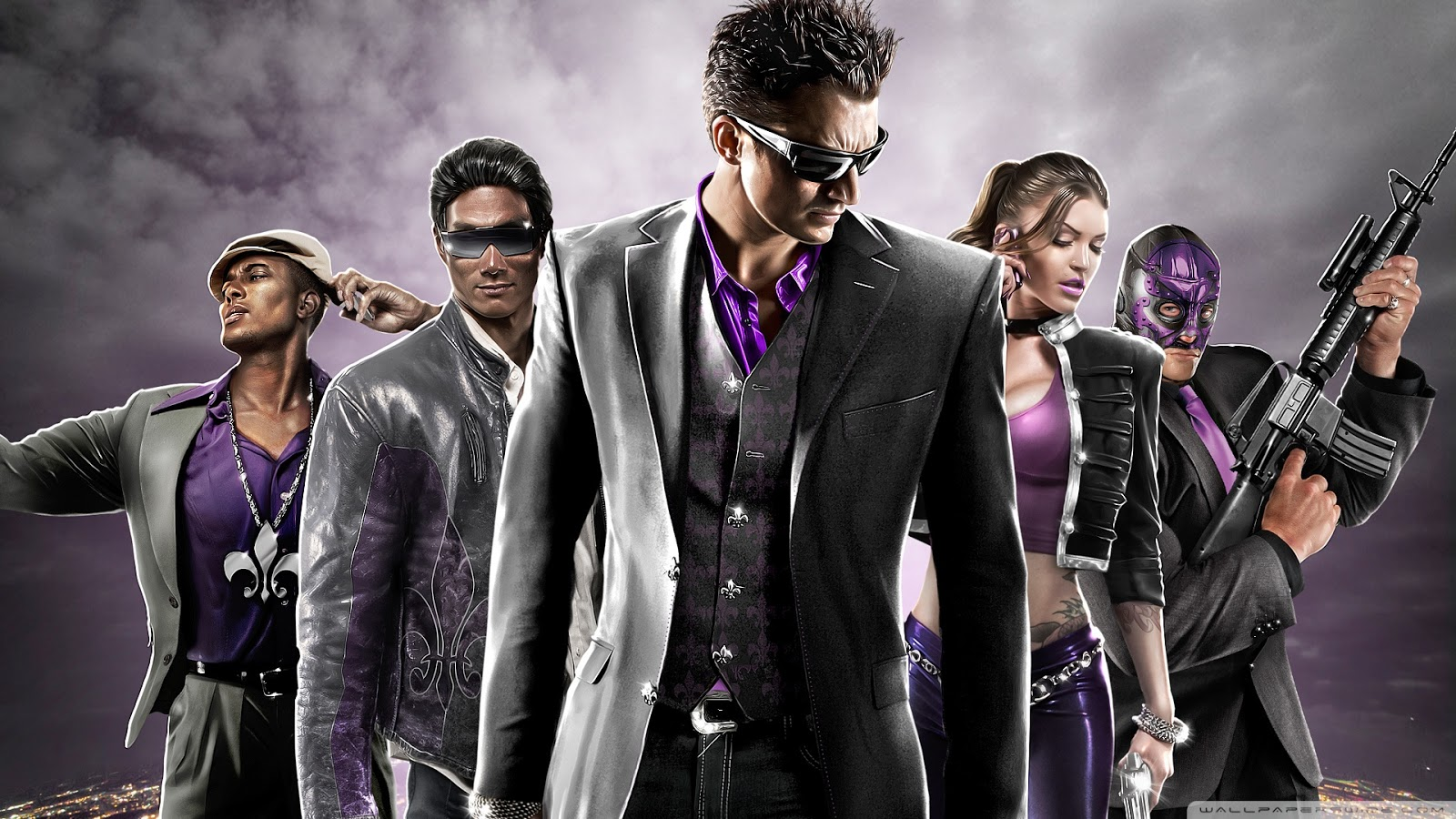 saints row 4 wallpaper 1